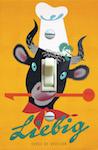 Swiss Design Poster Plakat BRUN Liebig 1940s