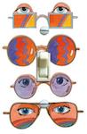 1960's Sun Glass Ad