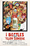 The Beatles Italian Yellow Submarine