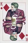 CHICAGO Playing Card King of Diamonds
