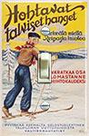 Hohtavat talviset hanget vuodelta 1935 (Finland)
