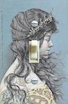 Renaissance Woman Postcard
