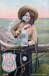 Women of Texas Postcard