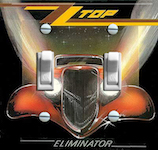 ZZ Top Eliminator 1983 Album Cover