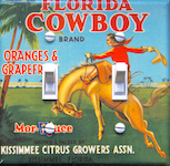Florida Cowboy Brand Oranges & Grapefruit