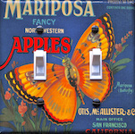 Mariposa (butterfly) Apples