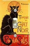 Théophile Steinlen Tournee du Chat Noir 1896