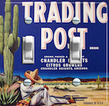 Trading Post Brand  Citrus Growers
