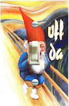 Uff Da Gnome Nisse Skrik (Scream)