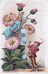 Vintage Fairy Pink Daisy