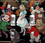 Vintage Illustration Alice in Wonderland