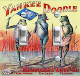 Yankee Doodle Frogs Thacker Fruits