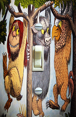 Where the Wild Things Are Illustration