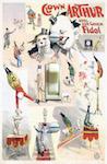 1900s Friedlander Circus Poster