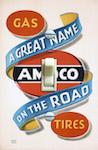 Amoco Automobile Gas Poster