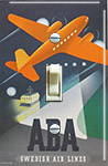 1940's AB Aerotransport (ABA) Swedish Airlines
