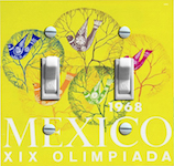 1968 Mexico XIX Olympic Poster