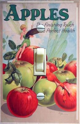 1930's Fairies - Apples for Health