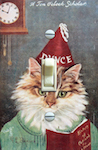 A Ten O clock Scholar Dunce Cat