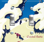 Tree Ski Crested Butte