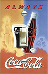 Coca Cola NY Travel Poster
