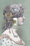 Renaissance Woman Postcard #2