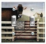 Cow & Flag