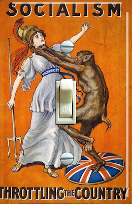 English Anti-Socialist poster from 1908