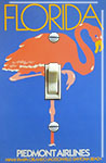 Flamingo Florida Piedmont Airline