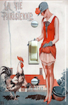 Illustration by George Leonnec For La Vie Parisienne July 1925