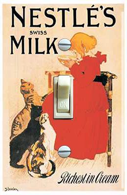 Nestle Swiss Milk & Girl