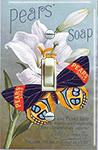 Pear Soap Butterfly