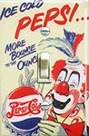 Vintage Pepsi & Clown