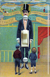 Tallest Man in the World Circus Poster