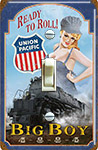 Union Pacific Pin Up Girl