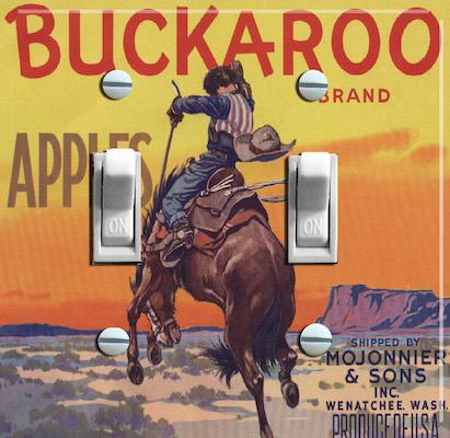 Buckaroo Brand Apples