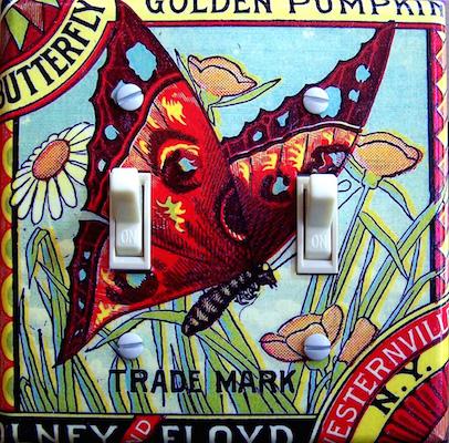 Butterfly Golden Pumpkin - Westernville NY