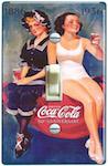 Coca Cola 50th Anniversary Advertisement 1886 to 1936