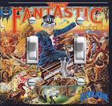 Elton John Captain Fantastic Album Cover