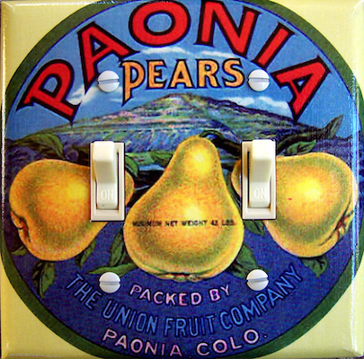 Paonia Pears