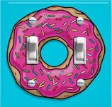 Pink Sprinkled Donut