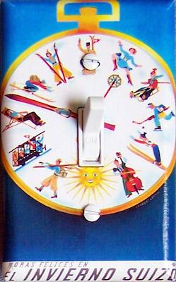 Swiss Clock Ski