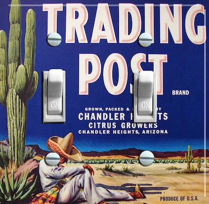 Trading Post Brand  Citrus Growers