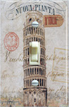 Vintage Leaning Tower of Pisa