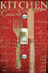 Vintage Silverware Illustration